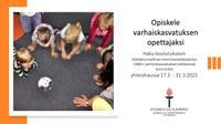 Haku varhaiskasvatuksen opettajakoulutukseen käynnistyy 17.3.2021