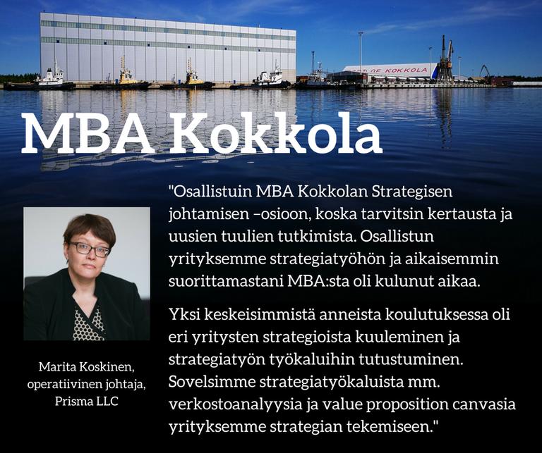 Mba Kokkola Koskinen