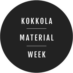 Kokkola material week logo