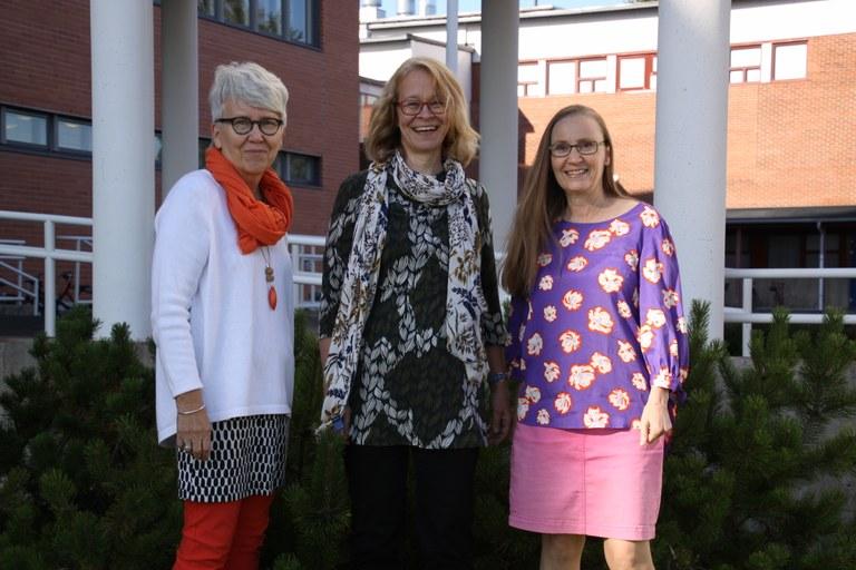 Leena,Kati ja Marjaana