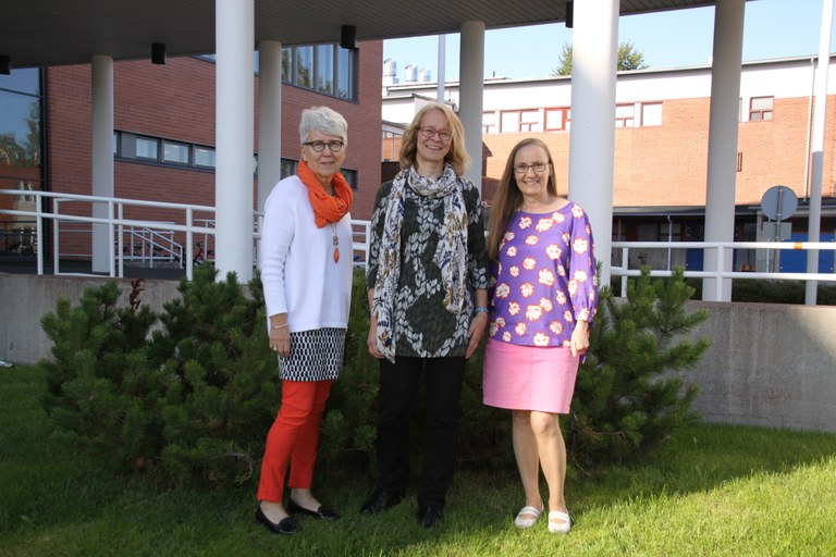 Marjaana, Leena ja Kati