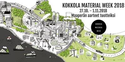 Kokkola Material Week 27.10 - 1.11.2018