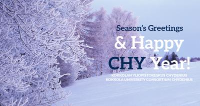 Kokkolan yliopistokeskus toivottaa rauhallista joulun aikaa ja menestystä vuodelle 2021!