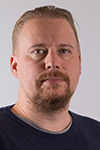 Välikangas Juho, projektitutkija/Project Researcher